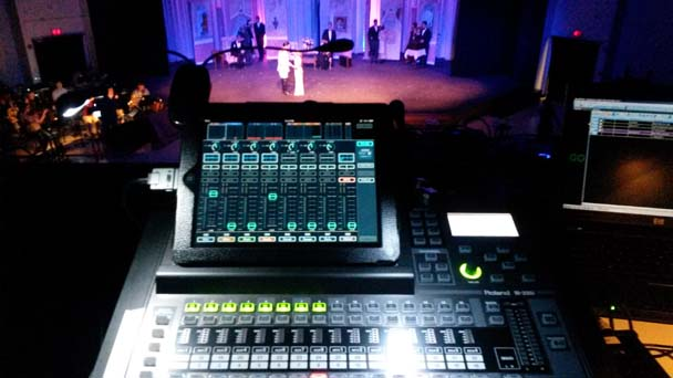 Roland M-200i in use at WindWorks