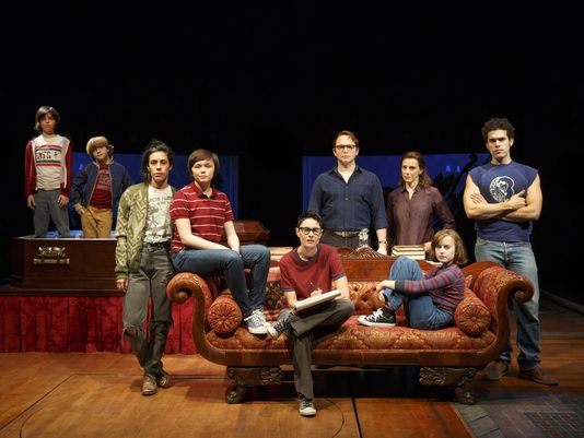 Fun Home Cast Photo